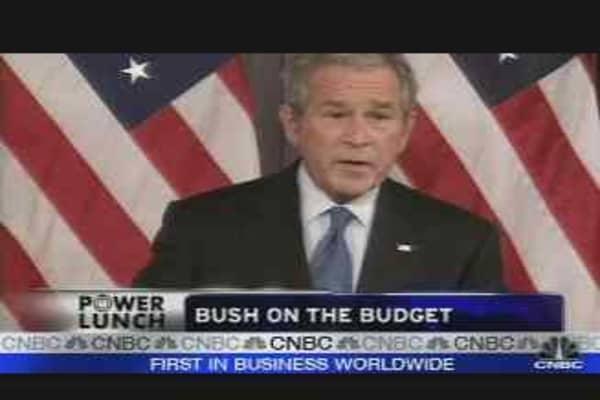 Bush's Budget Flip-Flop