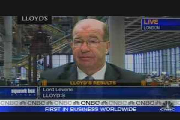Lord Levene on Lloyd's Earnings