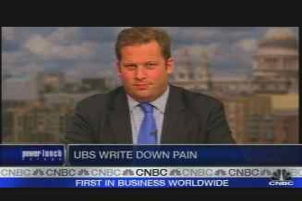 UBS Faces Write-Down Pain