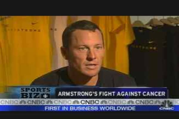 Armstrong's Fight Against Cancer