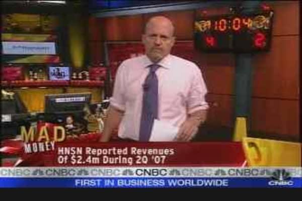 Hansen Medical CEO