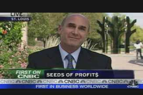 Monsanto CEO on Earnings