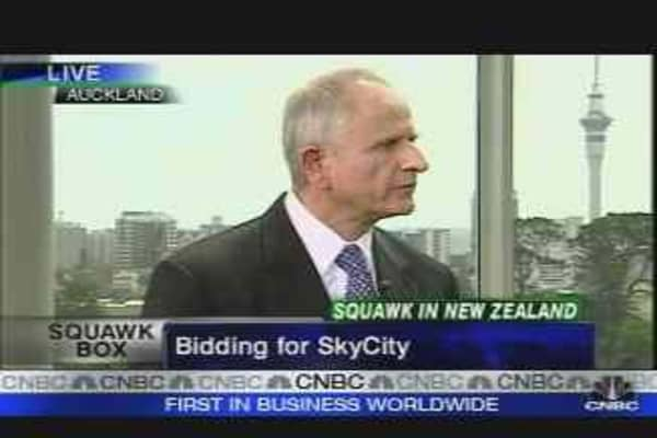 Bidding for SkyCity