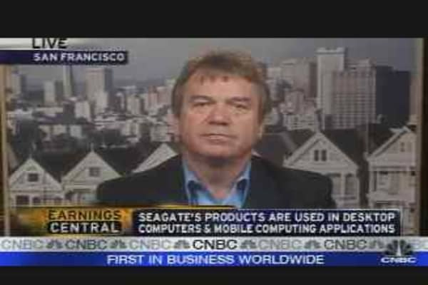 Seagate Earnings