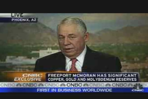 Freeport McMoRan CEO