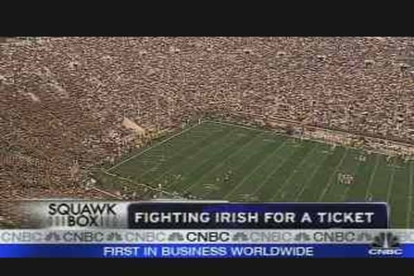 Fighting Irish for a Ticket
