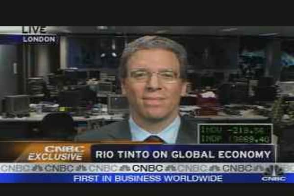 Rio Tinto CEO on Economy