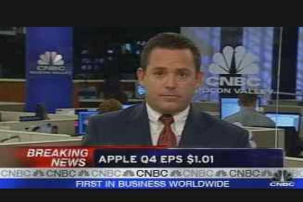 Apple Beats Forecasts