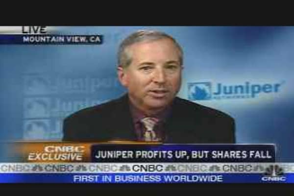 Juniper CEO on Earnings