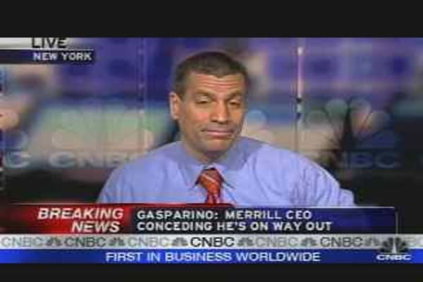 Merrill CEO Likely Out: Sources
