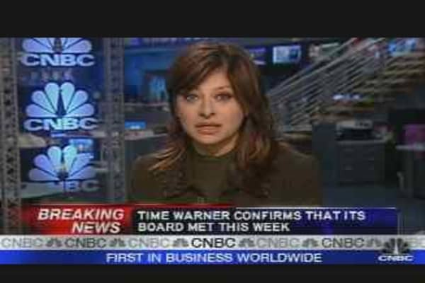 Parsons to Exit Time Warner?