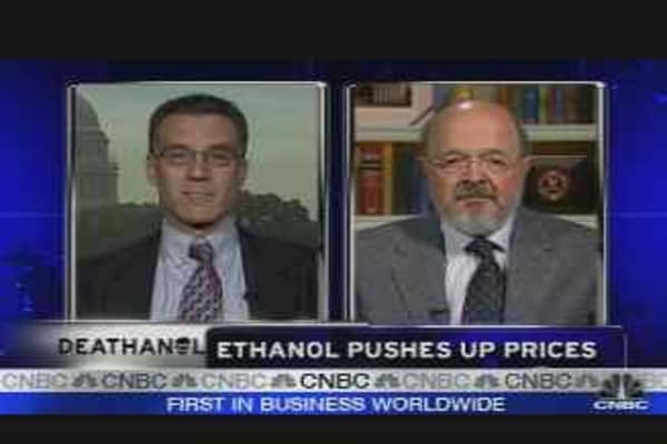 Ethanol Pushes Up Prices