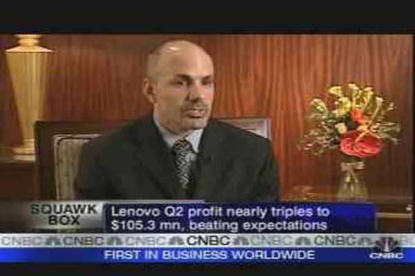 Lenovo Profit Nearly Triples