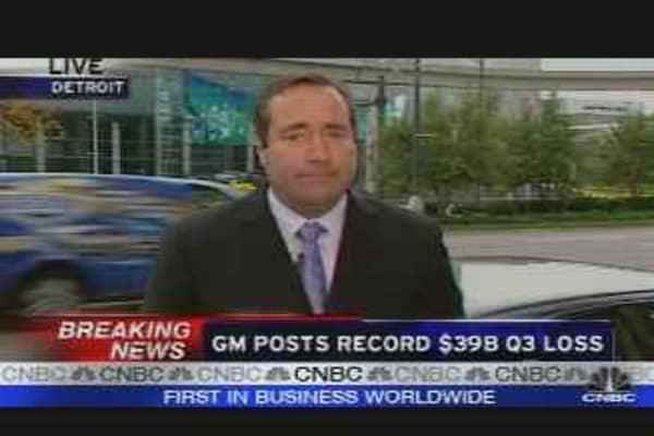 GM's Record Loss