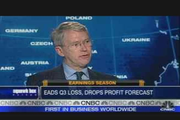 EADS Third-Quarter Loss, Drops Profit Forecast