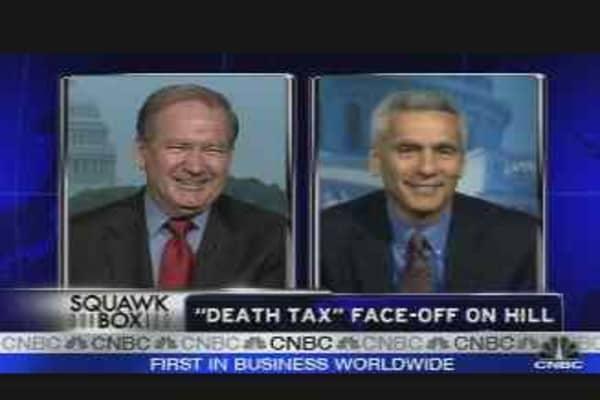 Death Tax Debate