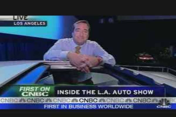 Inside the L.A. Auto show