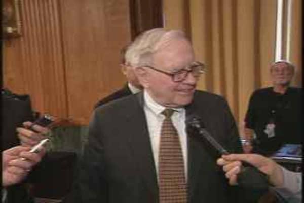 Buffett Hits the Hill