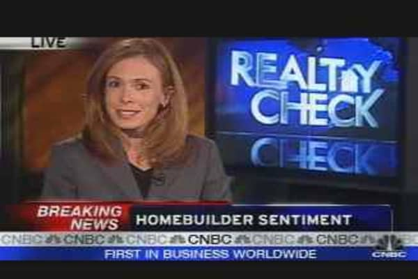 Homebuilder Sentiment