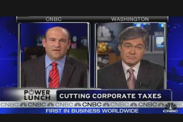 Cutting Corporate Taxes