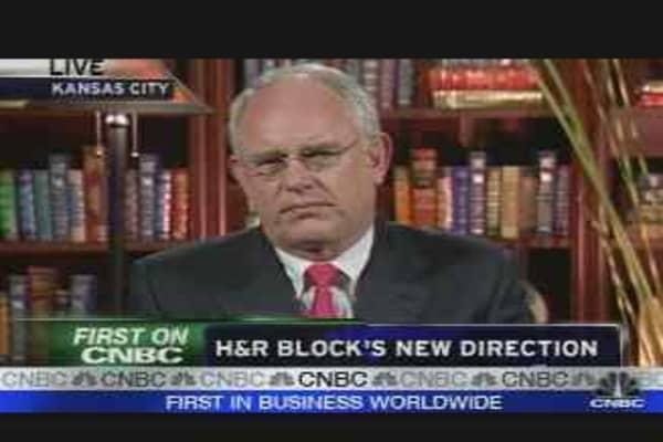 H&R Block's New Chief