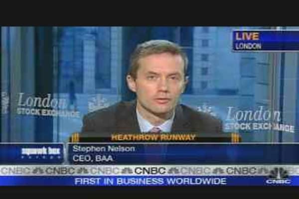 BAA CEO Defends Heathrow Expansion