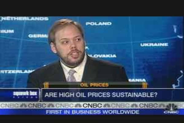 Are High Oil Prices Sustainable?