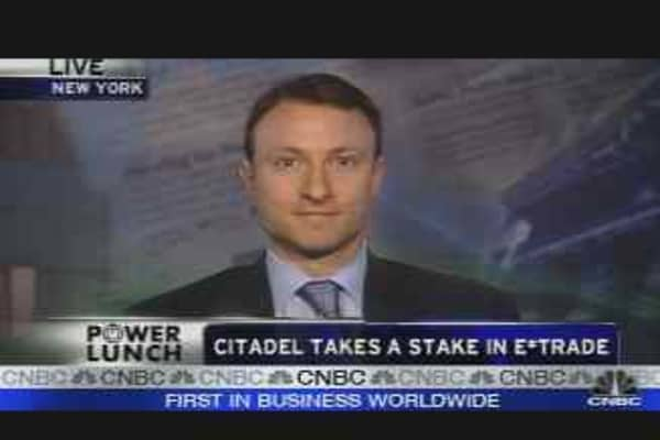 Citadel Takes a Stake in E-Trade