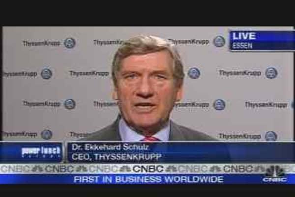 Thyssenkrupp CEO on Earnings