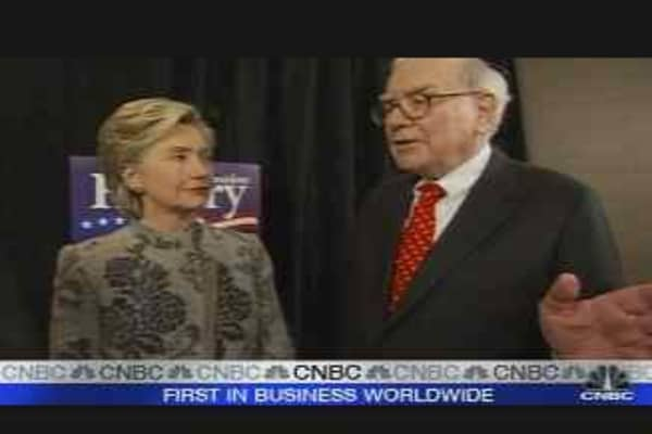 Buffett & Hillary