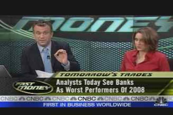 Tomorrow's Trades #2: Banks