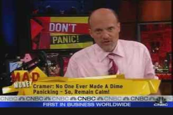 Cramer's Selloff Strategies