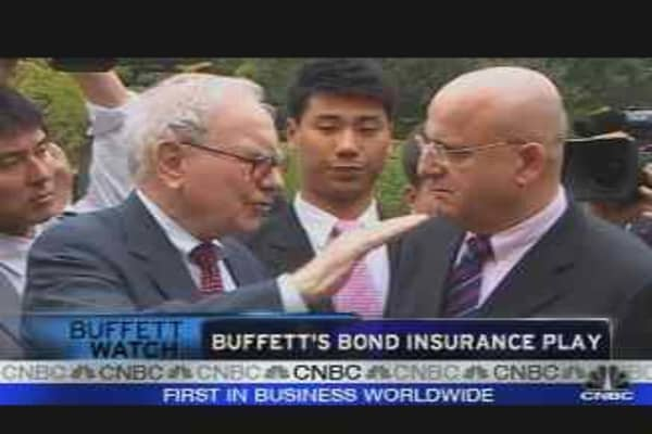 Buffett's Bond Insurance Play