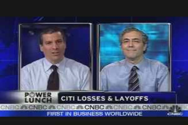 Job Cuts at Merrill, Citi
