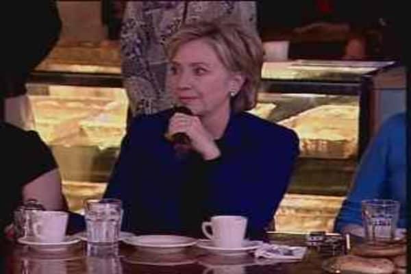 Hillary Gets Emotional