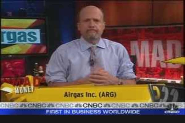 Airgas CEO Talks Sales