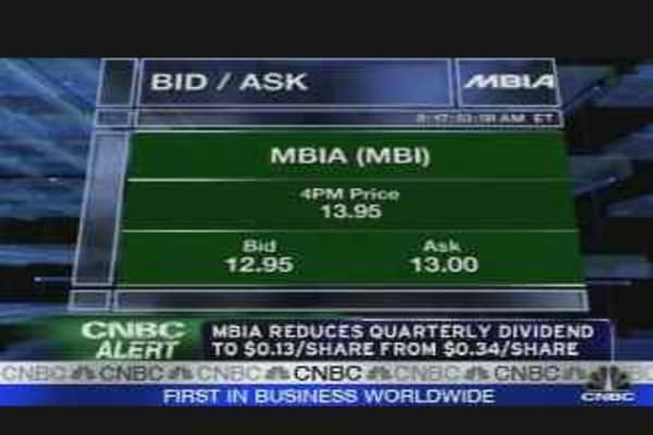 MBIA Alert