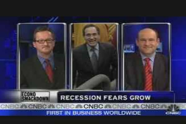 Recession Fears Grow