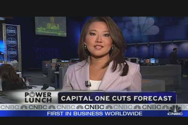 Capital One Cuts Forecast