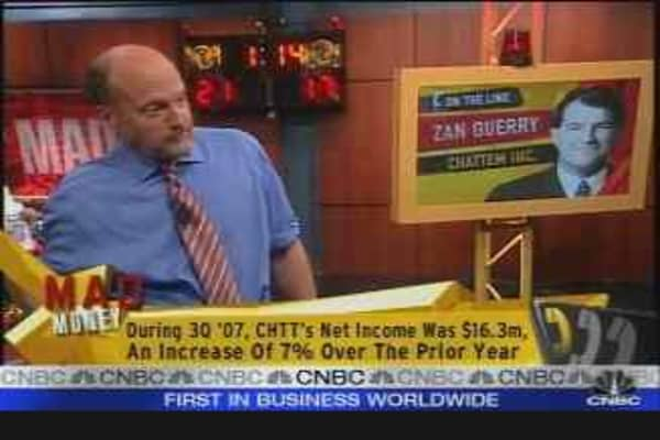 Chattem CEO on M&A