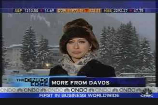 Reaction From Davos
