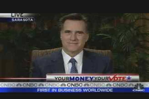 Romney's Economic Agenda