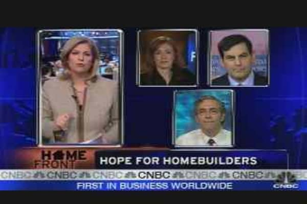 The Latest on Homebuilders