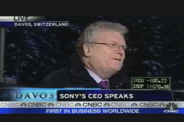 Sony's CEO Speaks