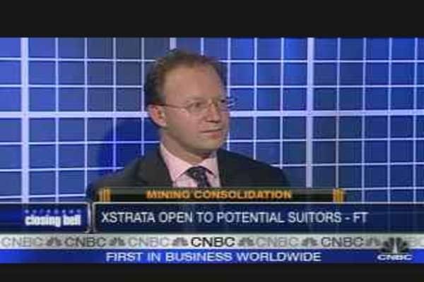 Xstrata Shares Rise on Bid Interest