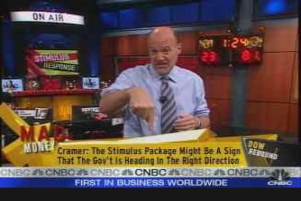 Cramer on Stimulus Package