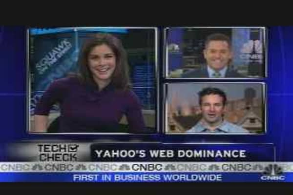 Yahoo's Web Dominance