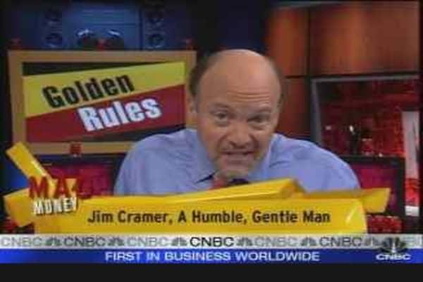 Cramer's Golden Rule #2