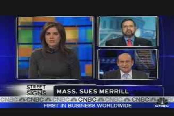 Mass. Sues Merrill