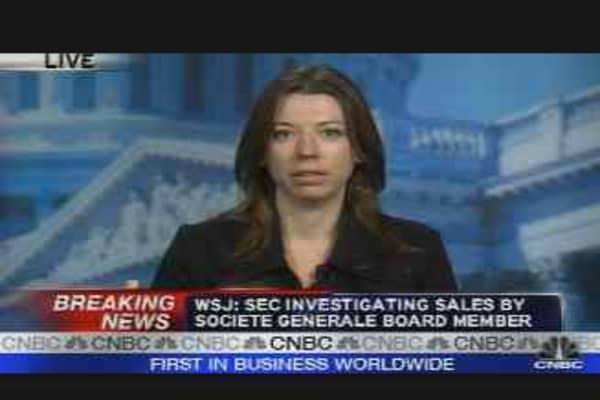 Feds Investigate SocGen